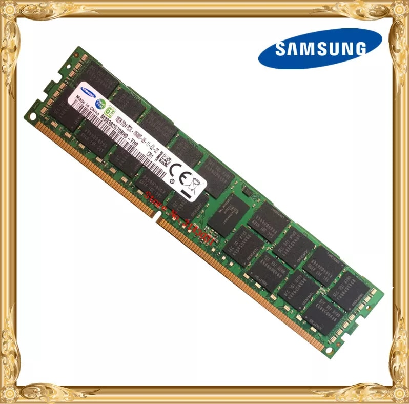 Samsung server speicher DDR3 16 GB 1333 MHz ECC REG Register DIMM PC3L-10600R RAM 240pin 10600 16G
