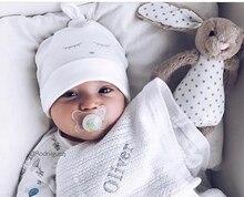 Gorro de dormir para bebé recién nacido, sombrero de ojo para niños, sombrero para niña, gorro de algodón, gorro boina para bebé, sombrero para niño
