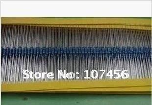 Frete grátis 1000 pçs resistores 68 ohms 1/4 w 1% metal filme resistor
