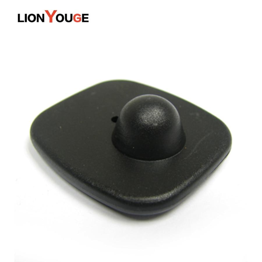 Бесплатная доставка DHL, анти-кражи eas rf 8,2 МГц тег, жесткий тег, маленький квадратный знак безопасности