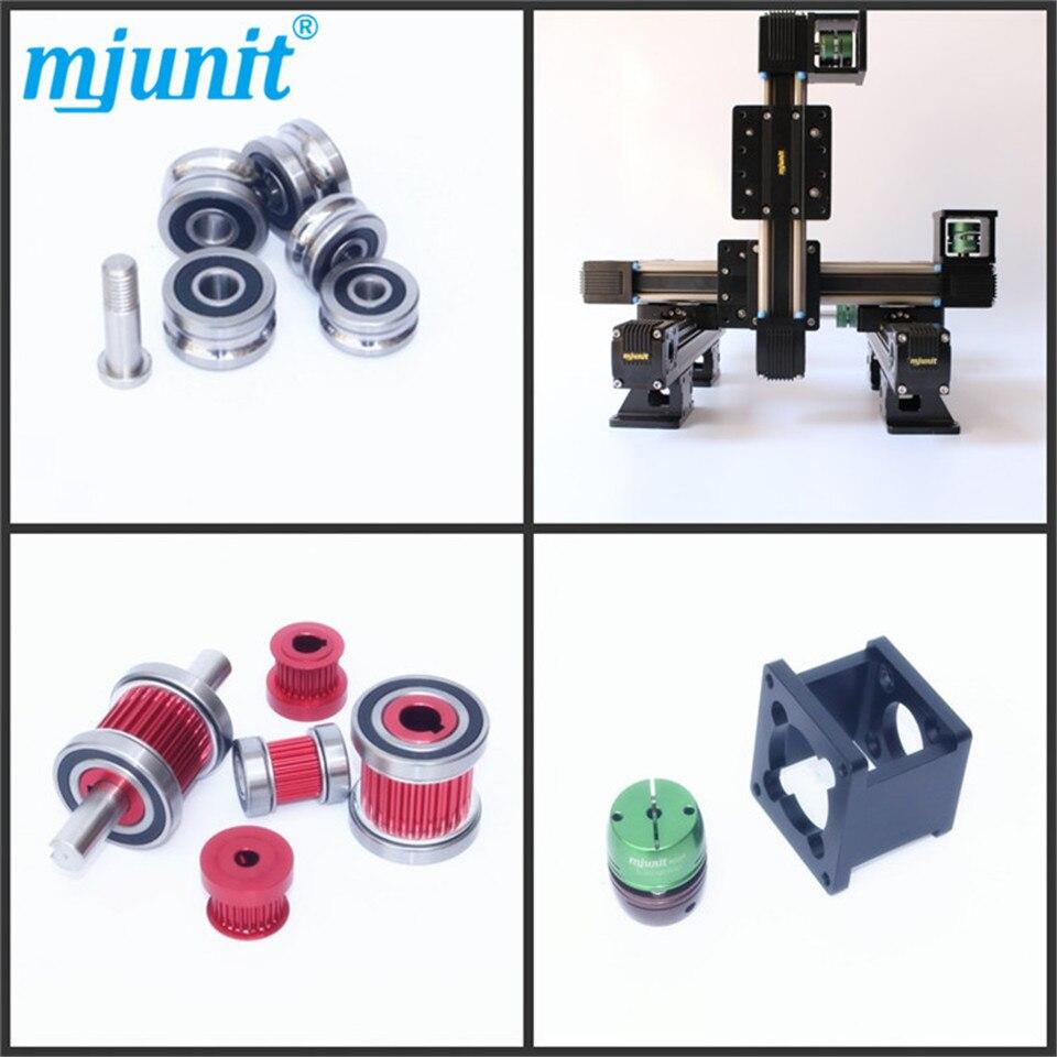 Mjunit حزام محرك خطي دليل/الحركة الخطية دليل السكك الحديدية/منخفض الضوضاء دليل خطي