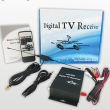 Car digital tv tuner Car ISDB-T South Brazil America Digital TV Receiver for Car DVD and monitor