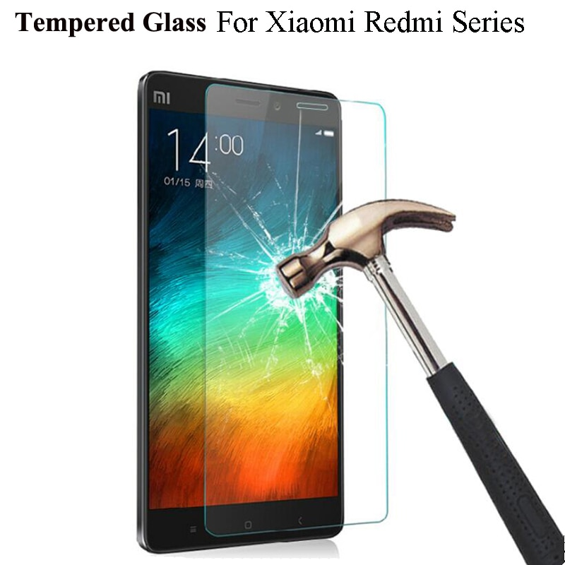 Tempered Glass For Xiaomi Redmi 4A Note 3 Pro Prime 2 For Redmi 3S 3 Pro 2 For Xiaomi Mi4 Mi4C Mi4S Mi5 Screen Protector Film