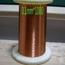 Especificaciones de cltgxdd: diámetro 0,1mm * 1000 m/cable magnético de QA-1-155 pc alambre de cobre esmaltado bobina magnética