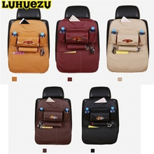 LUHUEZU 5 couleurs siège de voiture sac de rangement sac de rangement rangement couvercle pour Nissan patrouille Y62 Toyota Land Cruiser Prado 200 120 150