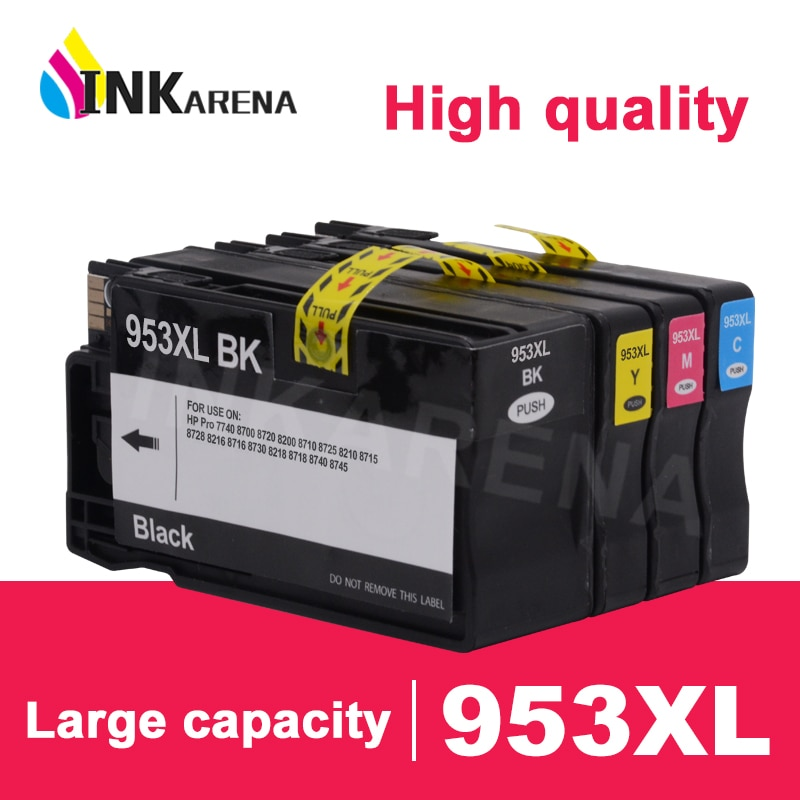 INKARENA Compatible For HP 953 XL Ink Cartridge For HP Officejet Pro 7740 8210 8218 8710 8715 8718 8719 8720 8730 8740 Printer