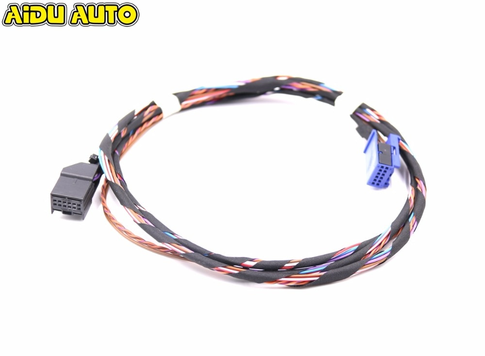 RCD510 RNS510 Media Interface MDI кабели проводки для VW GOLF 5N0 035 341 G