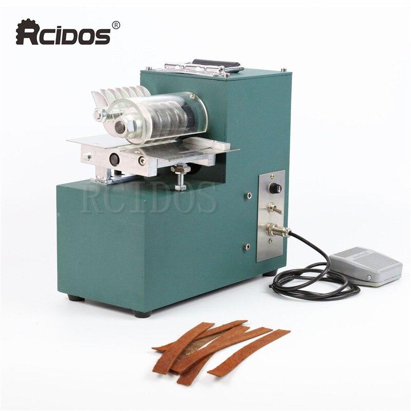 Máquina de corte de couro v01 rcidos, talhadeira de couro, cortador de papel reto dos sacos de sapato, cortador de couro curtido vegetal, 220v