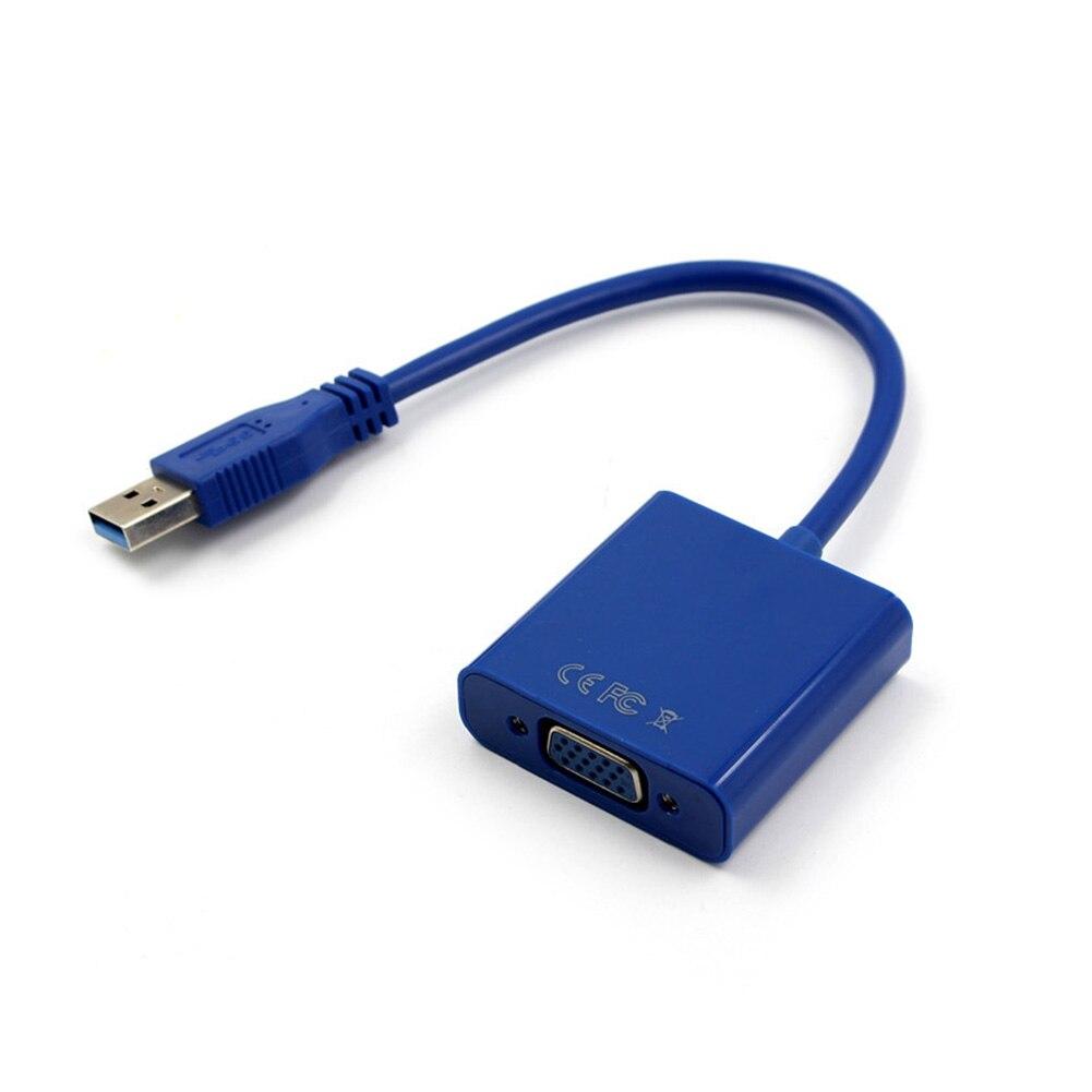 Adaptador de Cable USB 3,0 a VGA Multi-Display tarjeta gráfica de vídeo externa recién llegado