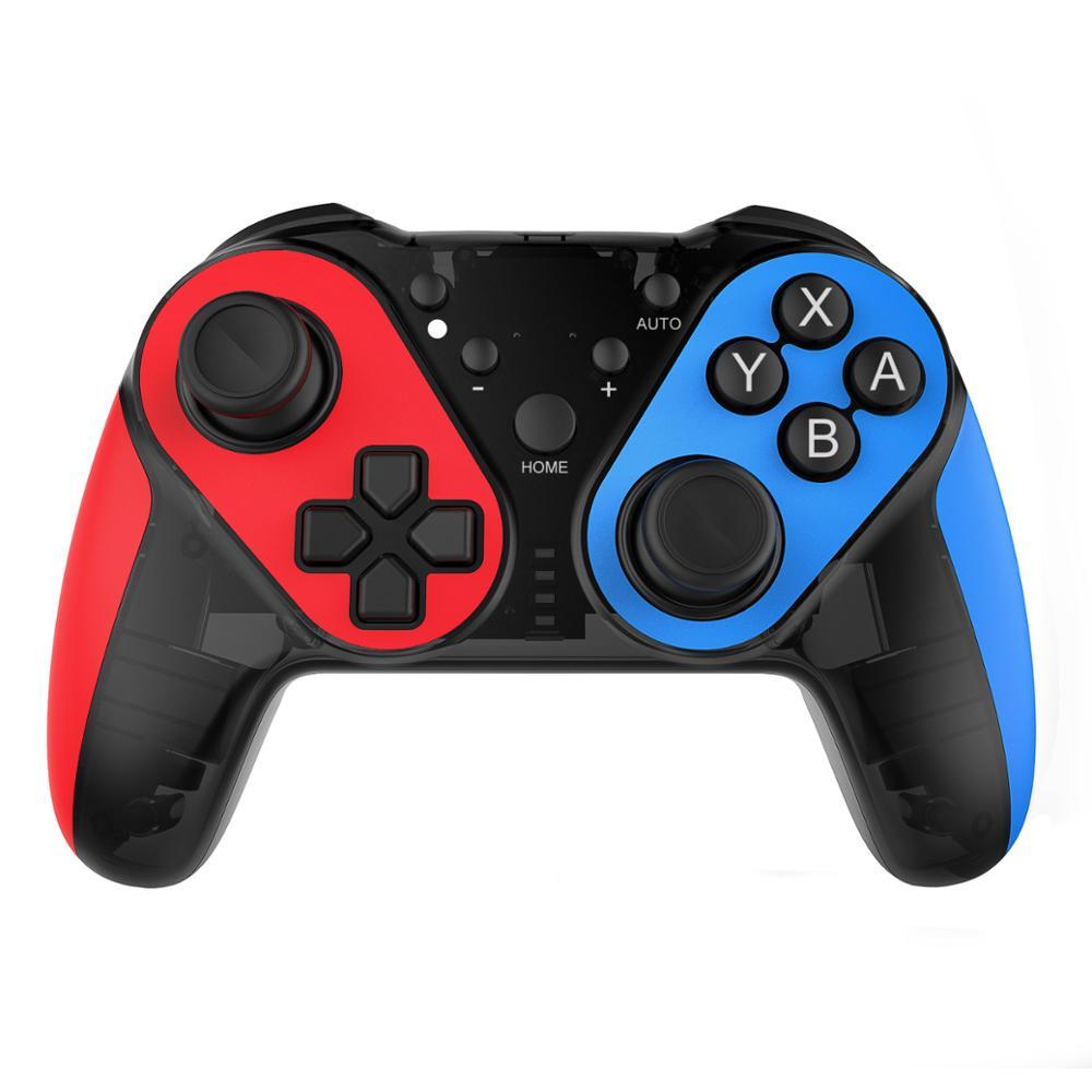 Mando de juego inalámbrico Bluetooth Gamepad PC joystick con Sensor de vibración NFC de 6 ejes para Nintend Switch Pro Console