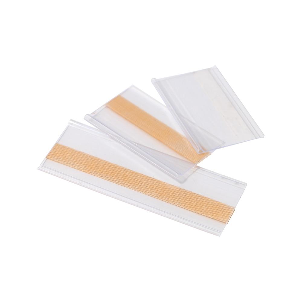 Tira de datos plana transparente adhesiva PVC 42MM con cinta adhesiva