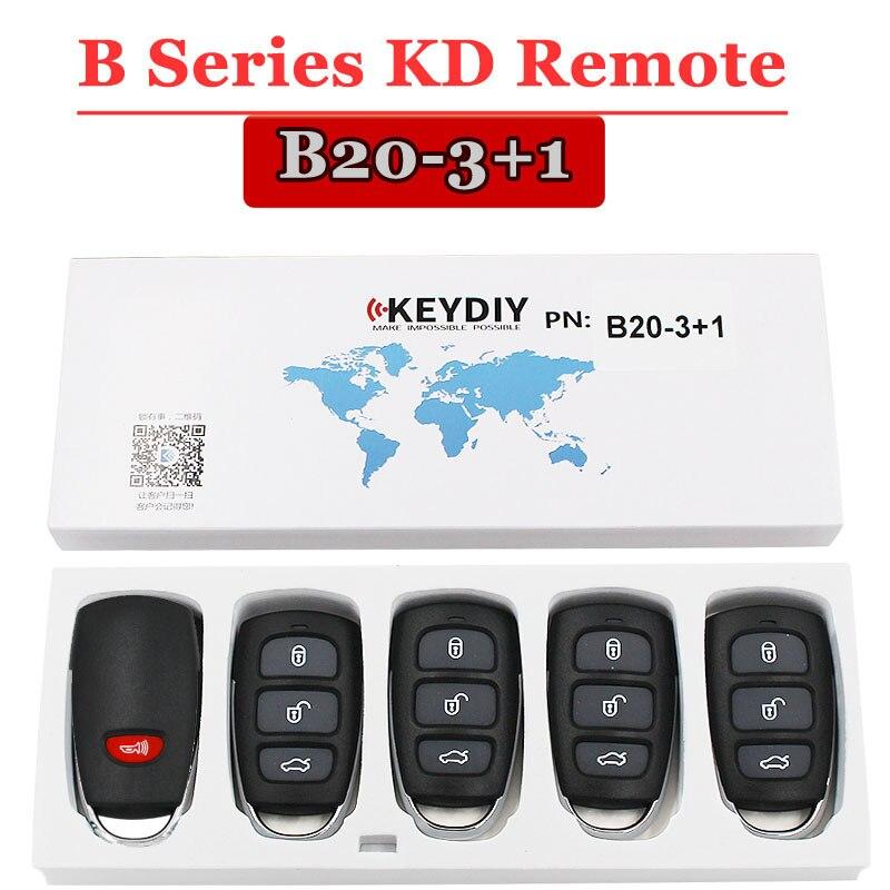 (5 pçs/lote) Botão B20-4 Keydiy Chave Remota Para Kd900 URG200 Kdbox MINI Máquina KD