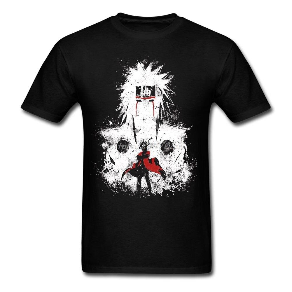 Sennin Modo NARUTO футболка XXXL с коротким рукавом на заказ Мужская одежда Pp машинный Стиль Хлопок Crewneck Забавные футболки
