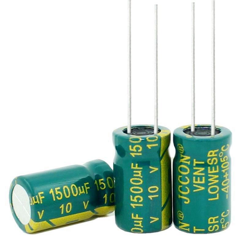 Nuevo original 10UF 15UF 220UF 470UF 1000UF 1500UF 400V 250V 100 V, 63V 50V 35V 25V 16V 10V 6,3 V condensadores electrolíticos 10*17MM