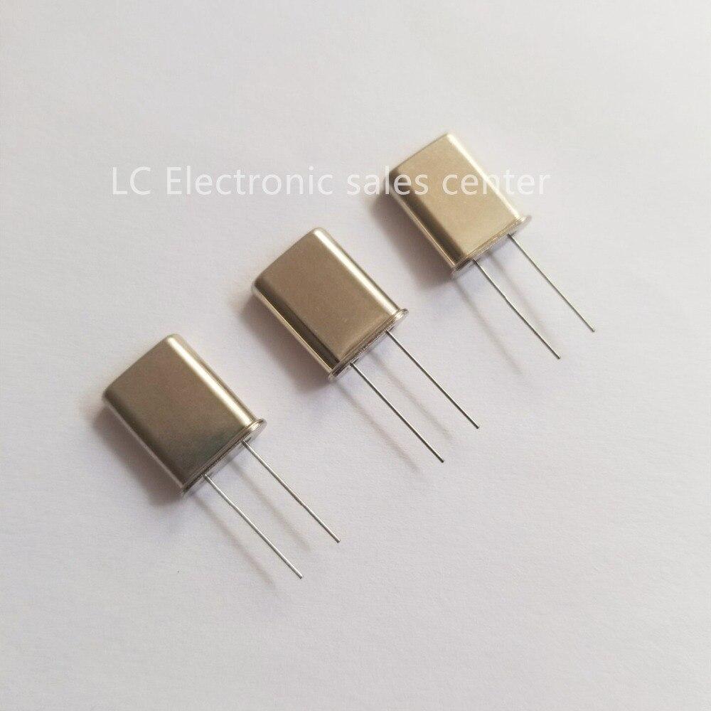 5 pces in-line oscilador de cristal passivo HC-49U 2mhz 2m u-type resonador de cristal de duas pernas