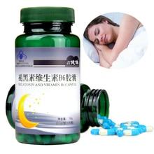 Mélatonine vitamine B6 soutient le sommeil réparateur ml la mélatonine aide à améliorer le sommeil profond Tui Hei Su, améliorer la qualité du sommeil, Anti-âge