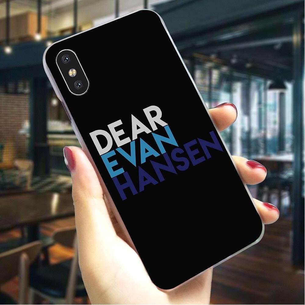 Querido Evan Hansen funda de teléfono dura para iPhone 6S Plus caso para iPhone 8 8 Plus XR X XR 7 6 5 5S SE Xs Max 11 pro