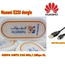 Desbloqueado inalámbrico huawei E220 3G usb modem HSDPA 7,2 Mbps tarjeta de red