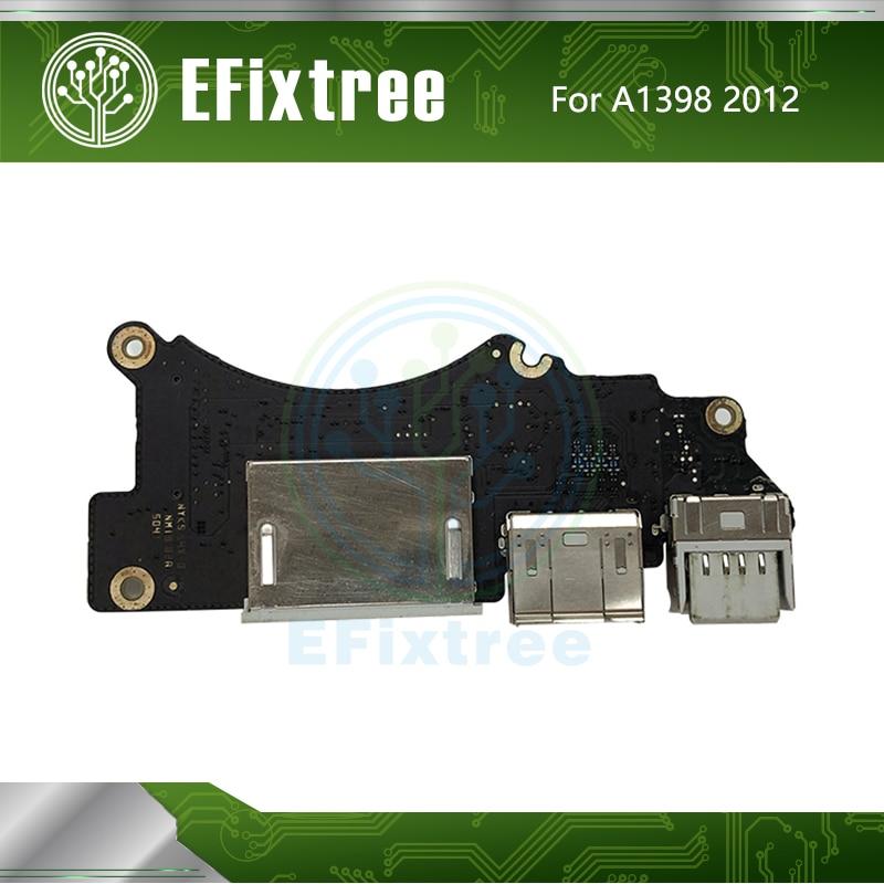 """Оригинальная 820-3071-A I/O USB HDMI SD кардридер плата для MacBook Pro Retina 15 """"A1398 USB плата Mid 2012 Ранняя 2013 EMC 2512"""
