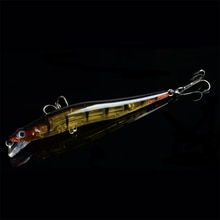 Hippocampe méné cliquetis leurre de pêche 115mm leurre de pêche Laser dur artificiel Bai Wobblers de pêche appâts ménés