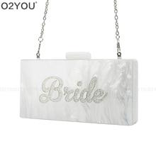 Famous Brand Design Lady Women Acrylic Wallet handbag Female Acrylic Day Clutch Bag Card Holder Phone Pocket Wallet Bride Purse