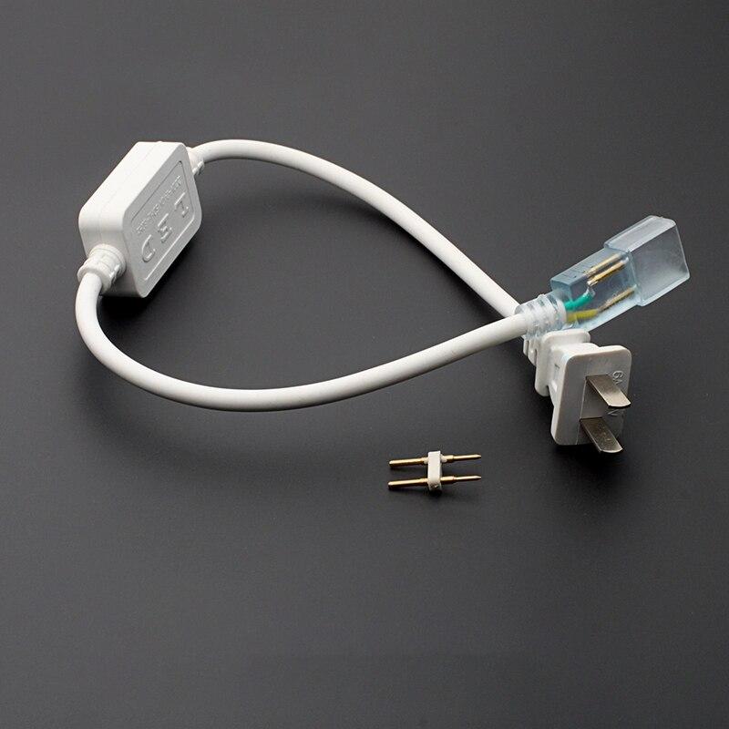 100 قطعة 50503528014 التوصيل 220 فولت عالية الجهد LED مصباح خطين التصحيح شرائط مصباح محول الطاقة التبديل موصل مصباح