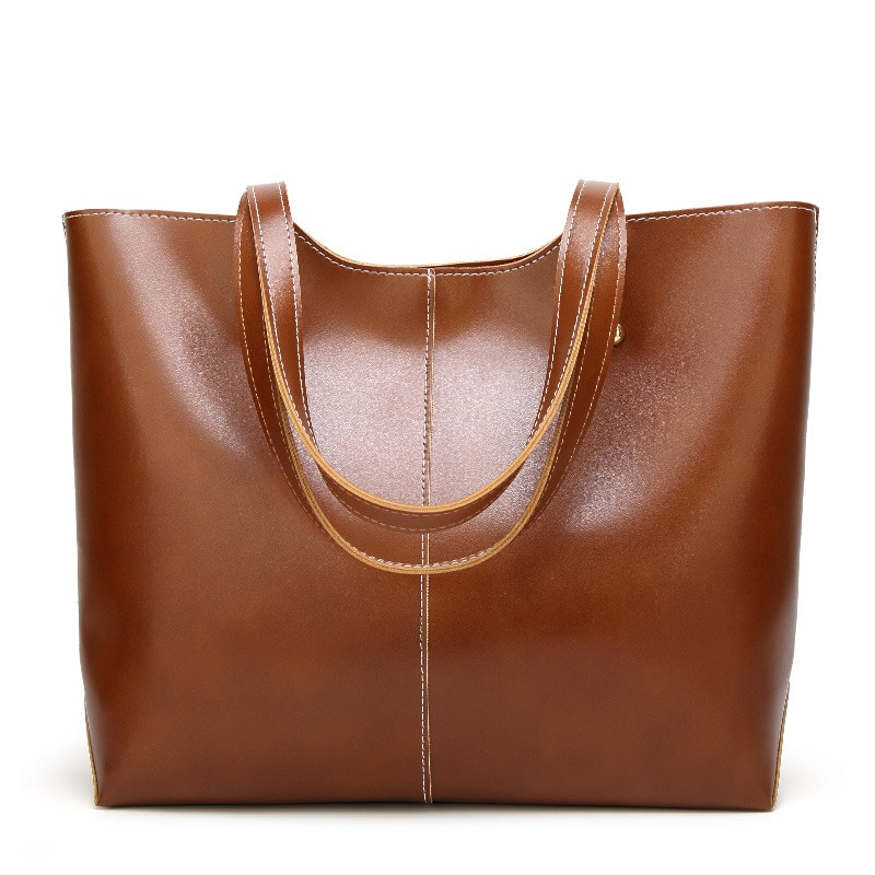 Brand Women Handbag Totes Bags for Female High Quality Shoulder Bags Simple Design PU Leather Top Ha