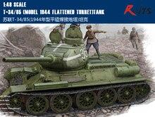 RealTS Hobbyboss 1/48 84807 T-34 russe/85 Tank (modèle 1944 tourelle aplatie)