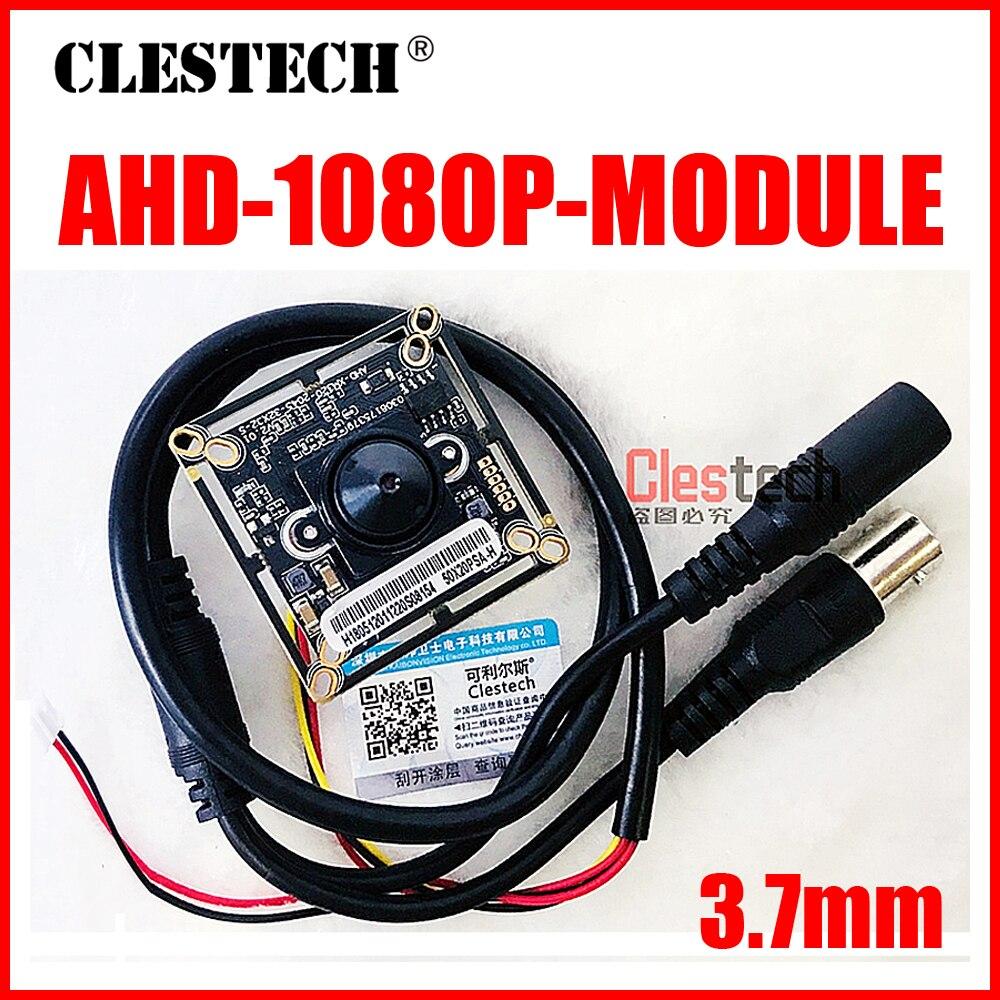Бесплатная доставка 3000TVL 1920*1080P 3,7 мм конусный AHD-P CCTV HD мини-камера чип печатная плата модуля готового монитора modul продукт