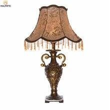 Nordique rétro résine lampe de Table salon chambre lampe de chevet moderne lampe de Table lampes de mariage Table décor industriel Luminaire