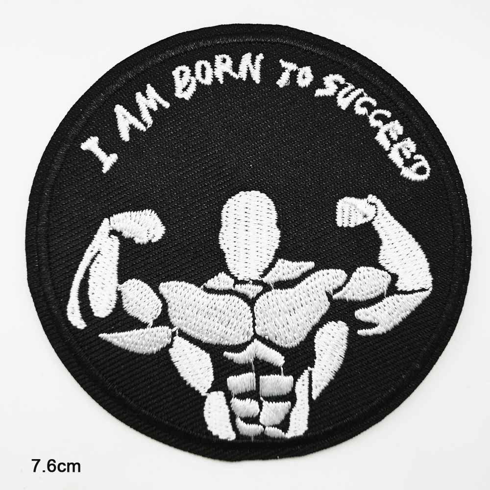 Deportes Rugby hierro en parche bordado ropa parche para ropa pegatinas de accesorios de ropa