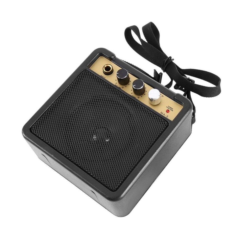 Mini amplificador de guitarra con altavoz de Clip trasero accesorios de guitarra para amplificador de guitarra eléctrica acústica