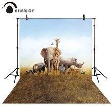 Allenjoy automne photographie toile de fond prairie animal prairie nature arrière-plan photocall photobooth photo shoot accessoire personnalisé