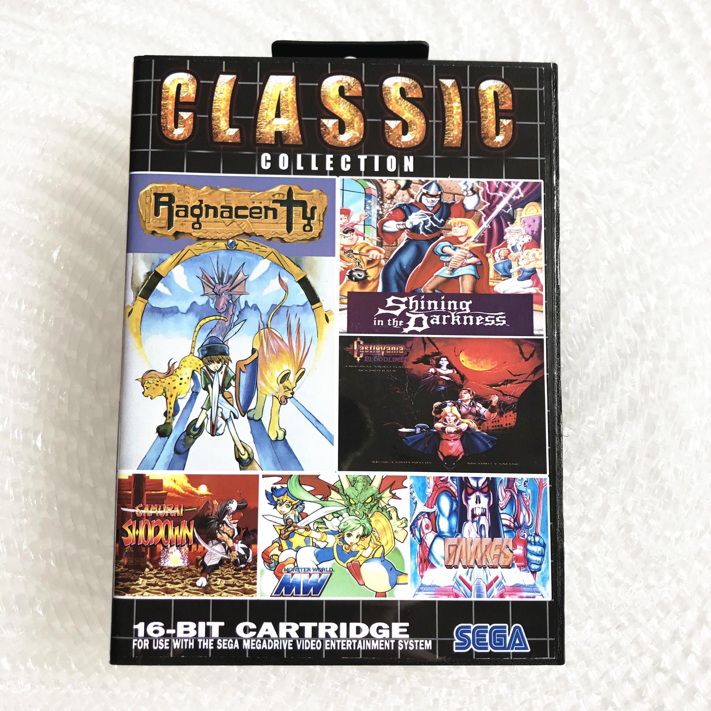 Súper colección para SEGA GENESIS MegaDrive, Cartucho de juego de 16 bits para PAL y NTSC