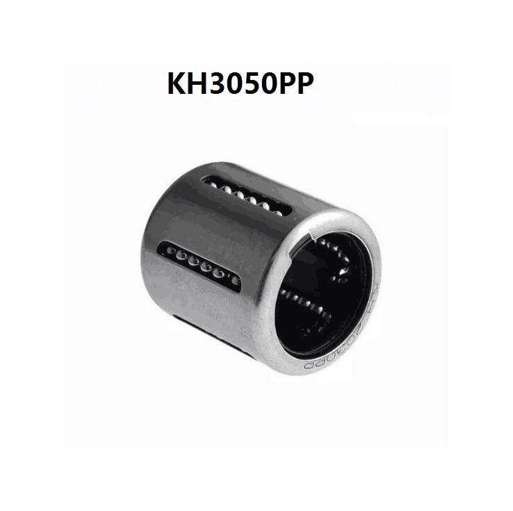 100 unids/lote KH3050PP 30 MM rodamientos de bolas lineales de prensado de casquillo lineal enrutador cnc 30x40x50mm J PP
