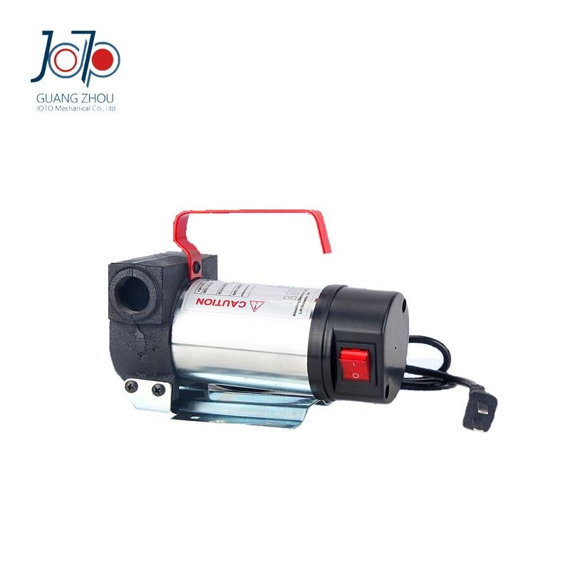 Nuevo Modelo de galvanoplastia 200W 24V DC de doble uso de entrada eléctrica autocebante maquinaria de construcción bomba para repostar bombeo de aceite