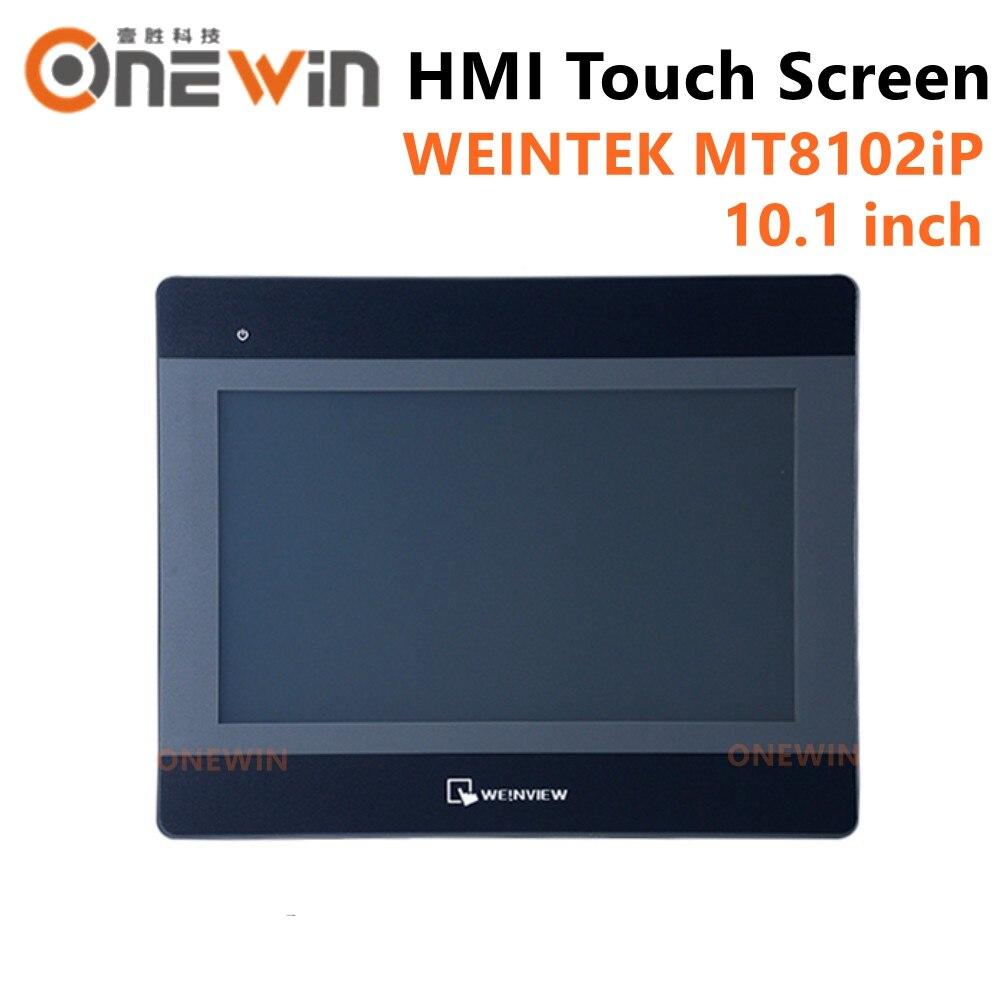 WEINVIEW MT8102iP HMI شاشة تعمل باللمس 10.1 بوصة 1024*600 USB إيثرنت جديد واجهة ما بين المستخدم والآلة العرض