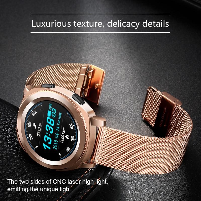 Microwear L2 Smart Watch IP68 1.5m deep water for 30mins Heart Rate Monitor Pedometer Sleep Monitor Fashion Sport SmartWatch