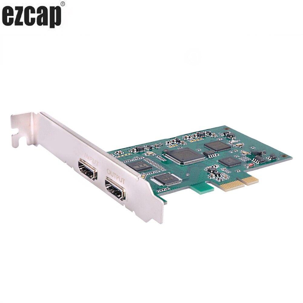 PCI Express HD Карта видеозахвата PCIE 1080P 60FPS HDMI карта захвата vmix wirecast obs игра/встреча прямая трансляция