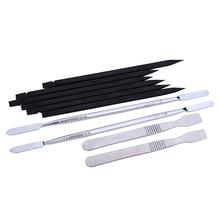 10Pcs/Lot Mobile Phone Repair Tool Metal Pry Disassemble Tools for iphone ipad Phone Tablet