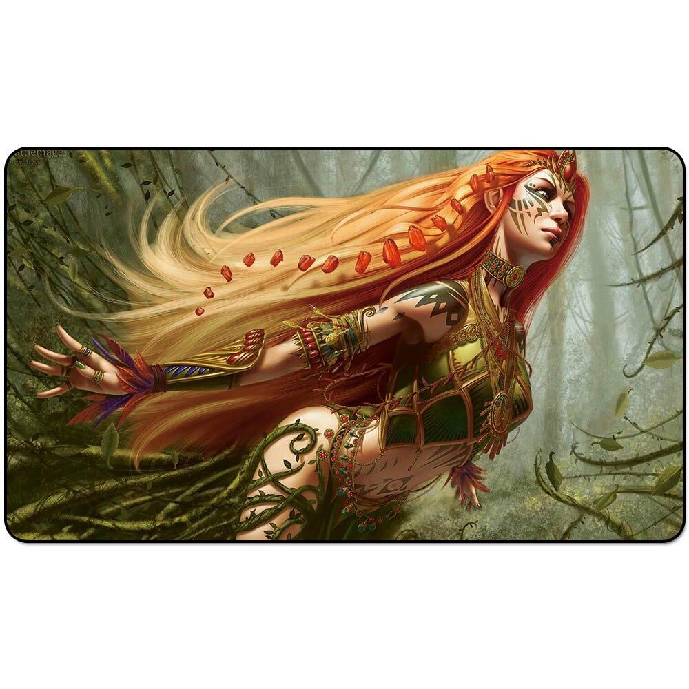 """Tapete mágico para juegos de mesa Naya Battlemage (bards of Alara), tapetes para juegos, alfombrilla de ratón del juego de 60cm x 35cm (24 """"x 14"""") tamaño"""