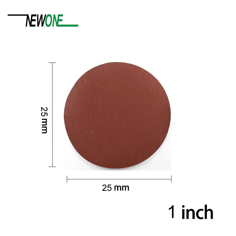 Discos de lijado de alta calidad de 100 piezas de 25 mm + placa de - Herramientas abrasivas - foto 3