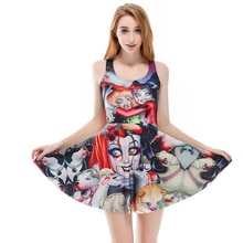 2xL 4xL Limited Sales Sexy Women Summer Mini Dress Brown Moon Sun Bubble Print Sleeveless Black Dresses Plus Size