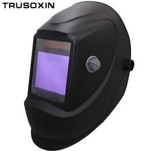 Grande vue Eara 4 Arc capteur DIN5-DIN13 solaire Auto assombrissement TIG MIG MMA meulage masque de soudage/casque/soudeur casquette/soudeur lunettes