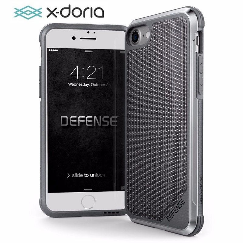 غلاف هاتف من X-Doria لهاتف iPhone SE 7 8 Plus حافظة حماية من الدرجة العسكرية من X-Doria لهاتف iPhone 7 8 Plus