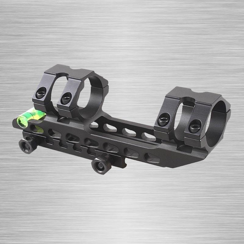 2017 Nuevo 25,4mm/30mm una pieza Riflescope Cantilevel Riflescope Scope Mount dispositivo Anti Cant. Nivel de burbuja montaje Picatinny