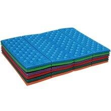 1Pc Mini tapis étanche à lhumidité ultra-léger imperméable à leau pliant matelas extérieur pour le Camping