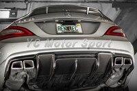אביזרי רכב פחמן סיבי RNT סגנון אחורי מפזר Fit עבור 2011-2013 MB W218 CLS63 AMG אחורי מפזר