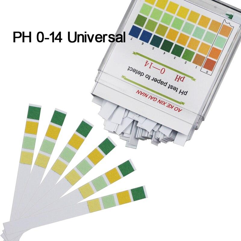 100PCS PH 0-14 Medical Litmus Test Paper Body PH Test Strips Alkaline Acid Water Saliva Urine Universal Special Indicator Paper