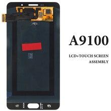 Pour Samsung A9100 A910F A910 noir blanc écran LCD écran tactile pour SAMA9 2016 LCD écran numériseur assemblée téléphone remplacement